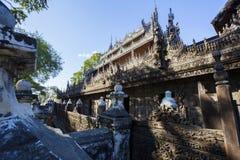 Golden Palace Monastery Shwenandaw Kyaung Stock Photos