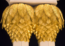 Golden Palm Tree Royalty Free Stock Images