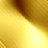 Golden panel. With some fine grain in it Royalty Free Stock Photo