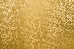 Golden panel with some fine grain and texture highlight Royalty Free Stock Photos