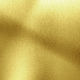 Golden panel. With some highlights and shades on it Stock Photography