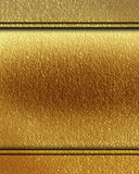 Golden panel. With some stains on it Royalty Free Stock Images