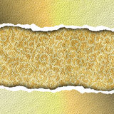 Golden paper Royalty Free Stock Photo