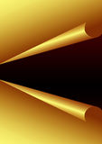 Golden Paper Background. Beautiful Golden Paper Background for designers Stock Photos