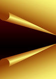 Golden Paper Background. For designers Stock Images
