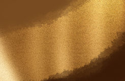 Golden  paper background Stock Photography