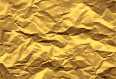 Golden paper Royalty Free Stock Images