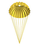 Golden Parachute Royalty Free Stock Images