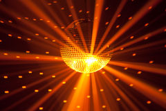 Golden party lights royalty free stock photos
