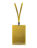 Golden pass. Illustration design isolated over a white background Stock Photo