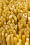 Golden Pasta Stock Image