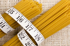 Golden Pasta Royalty Free Stock Photo