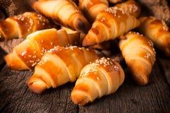 Golden pastry Stock Photo