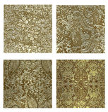Golden patina_1 Royalty Free Stock Images