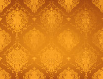 Golden Pattern. Wallpaper backgrounds horizontal Royalty Free Stock Image