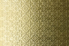 Golden pattern Stock Photography