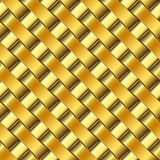 Golden pattern Royalty Free Stock Photo