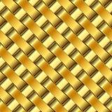 Golden pattern Royalty Free Stock Photo