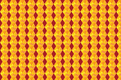 Golden_Pattern_abstract. Golden pattern with red background Royalty Free Stock Images