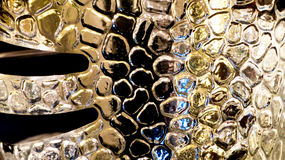 Golden pattern abstract Royalty Free Stock Photo