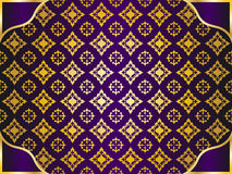 Golden pattern background Royalty Free Stock Photo