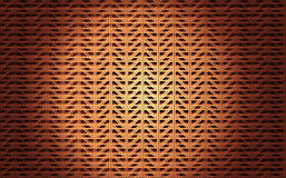 Golden pattern. Metal golden pattern with triangles shapes Stock Photography