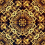 Golden Pattern, Seamless Stock Photos