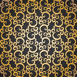 Golden pattern Stock Image