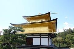 Golden pavilion(Kinkakuji Golden Temple) Kyoto Japan Stock Photography