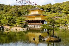 Golden Pavilion Stock Photo