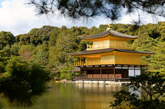 Golden Pavilion Royalty Free Stock Photo