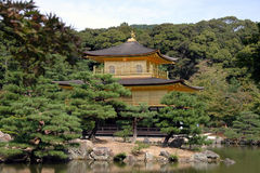 The Golden Pavilion Stock Photos
