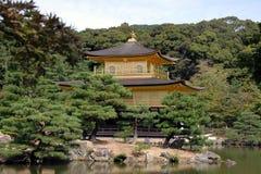 The Golden Pavilion. Rokuon-Ji Temple Stock Photos