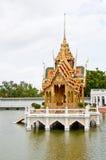 Golden pavilion Royalty Free Stock Photos