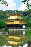 Golden pavilion Royalty Free Stock Photos