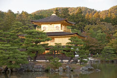The Golden Pavilion Royalty Free Stock Photo