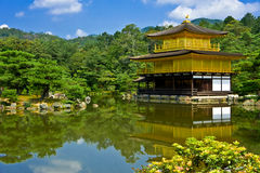 Golden Pavilion Stock Images
