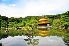 Golden pavilion, Japan Royalty Free Stock Images
