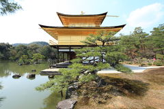 Golden Pavilion,Japan Stock Photo