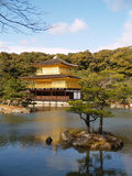Golden Pavilion Kinkaku-ji Stock Photography