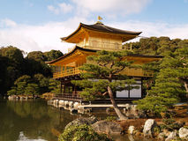Golden Pavilion Kinkaku-ji Royalty Free Stock Images