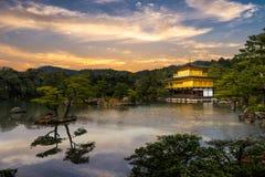 Golden Pavilion Stock Photography