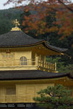 The Golden Pavilion (Kinkaku-ji) of Kyoto Royalty Free Stock Image