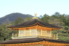 Golden pavilion of Kinkaku ji in Kyoto Stock Photography