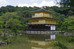 Golden Pavilion or Kinkaku-ji Temple - Kyoto, Japan stock photos