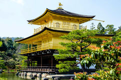 Golden Pavilion Kinkakuji Temple at Japan Stock Images