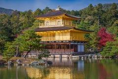 Golden Pavilion Kinkakuji Temple Royalty Free Stock Photo