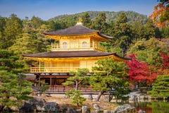 Golden Pavilion Kinkakuji Temple Royalty Free Stock Images