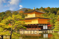 Golden Pavilion Kinkakuji Temple in Kyoto Japan Stock Photos