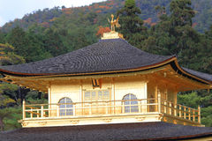 Golden Pavilion Kinkakuji Temple in Kyoto Japan Royalty Free Stock Photos